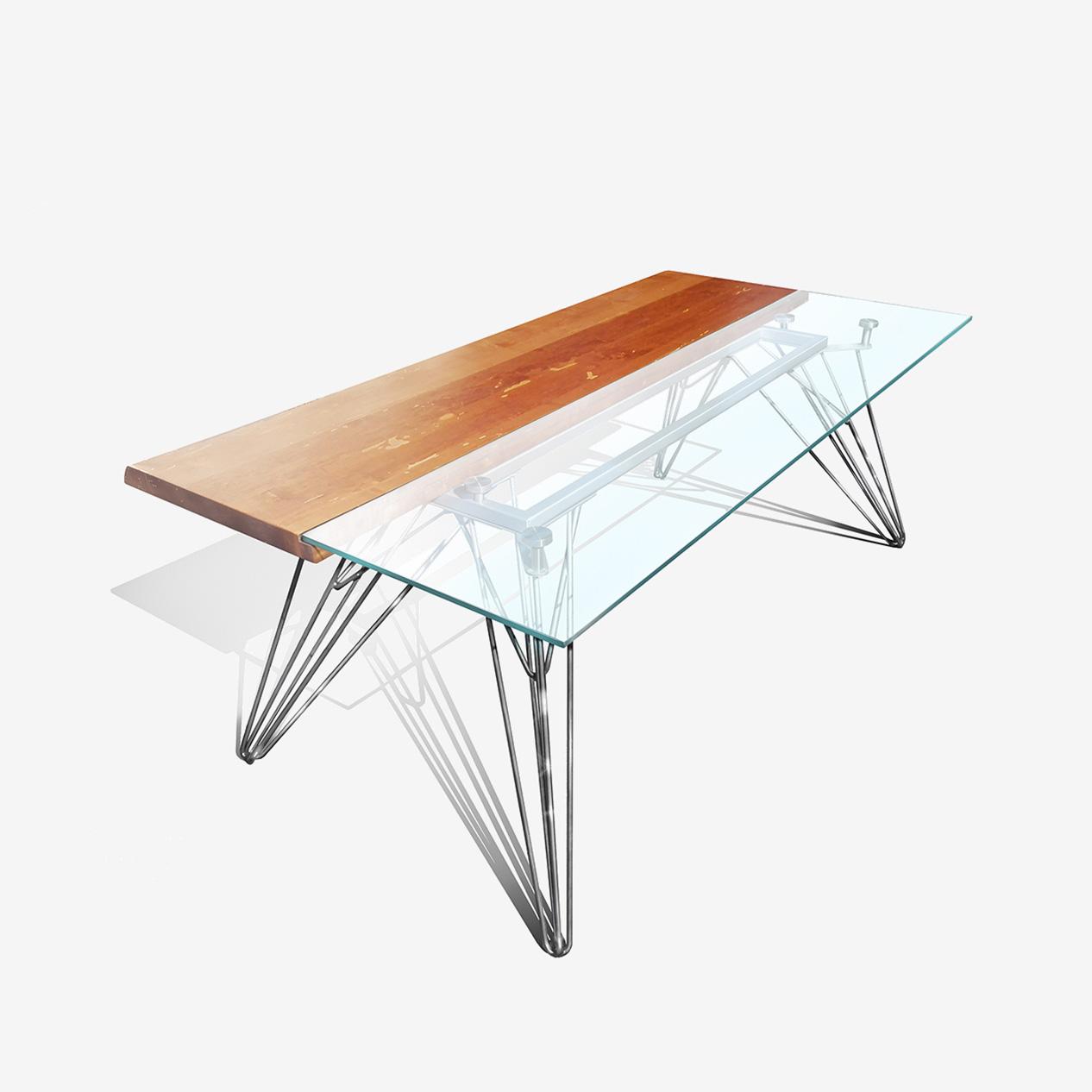 tavolo cristallo